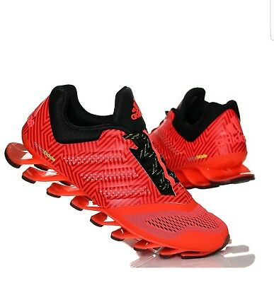 adidas Springblade Drive 2 Mens Solar Red Running Sports Trainers ..UK size 8.5