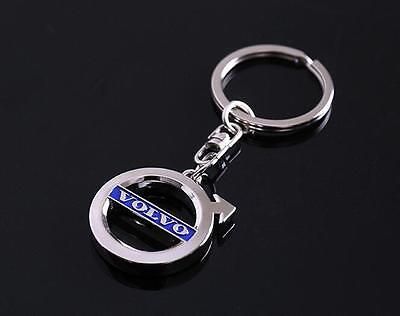 New 3D Car Logo Keyring Keychain Metal Pendant Key Holder for Volvo
