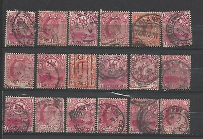 British Commonwealth collection old stamps gb cape of good hope penny reds