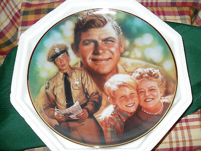 Andy Griffith Hamilton Plate Collection plus Franklin Mint Commemorative Plate
