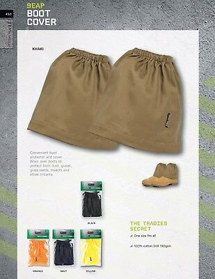 JB's wear Convenient Boots Cover Protect from Grass Seed Irrtants Insect Gravel