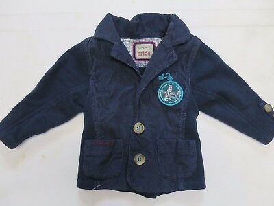 Baby boys jacket cardigan M & S Autograph age 3 6 9 12 18 24 months nav NEW