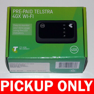 Pre-Paid Telstra 4GX Wi-Fi (New & Sealed) 3G / 4G Pocket Modem [PICKUP ONLY vic]
