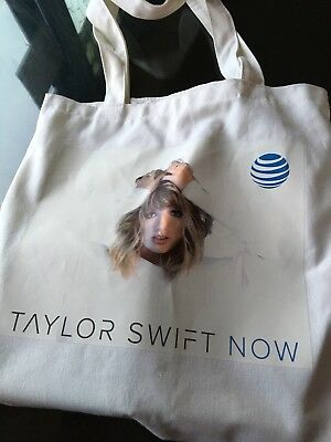 Taylor Swift Reputation Tote Bag White canvas