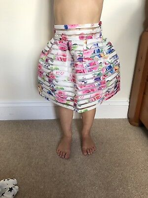 New Girls Floral Skirt age 12-18 months