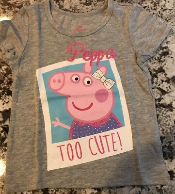 Nwt Toddler Girl Peppa Pig Shirt Size 2T