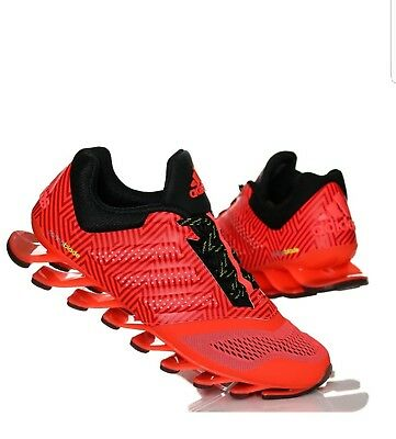 adidas Springblade Drive 2 Mens Red Running Trainers UK size 8 RRP £130