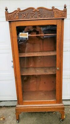 Antique Medical Or Doctor's Cabinet     Fabulous