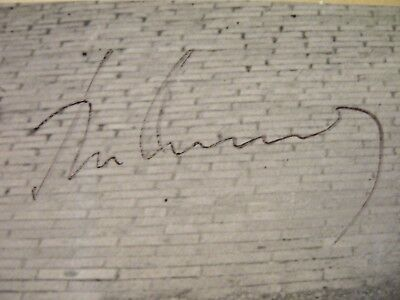 John F Kennedy Authentic Signed Autograph Cut With Coa