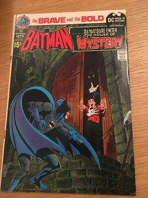 DC Comics The Brave And The Bold # 93 Batman House of Mystery 1970-71