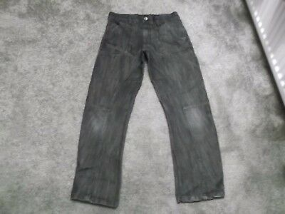 Boys Black Jeans From George Age 10-11 Years Excellent Condition