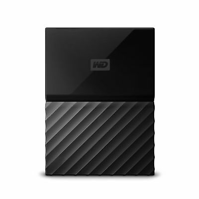 WD My Passport 1 TB Portable Hard Drive and Auto Backup Software for PC Xbox ...