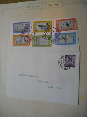 Calf of Man - First Day Cover - 1963