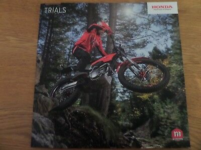 Montesa Range Motorcycle Sales Brochure 2018