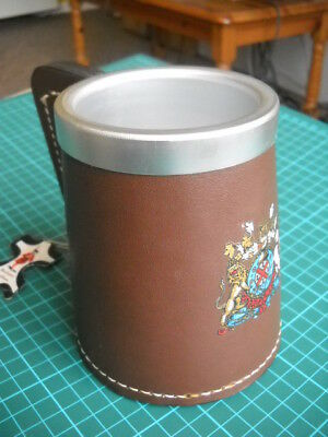 Beefeater Leathers HALF PINT TANKARD antique re-enactment