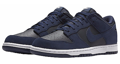 Mens Nike Dunk Low. Trainers/ Sneakers. Blue/ Black. BNWT