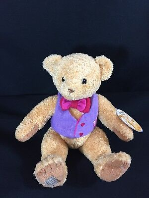 2002 Enesco CHERISHED TEDDIES Teddy Bear Stuffed Plush Priscilla Hillman 10""