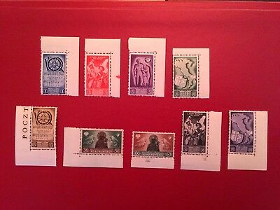 Poland,ww Ii,polish Military Settlements In Italy,full Set With Margins -Mnh