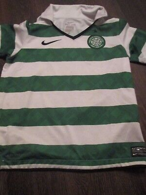 Celtic 2011-2012 Home Football Shirt Size 8-10 Years /43211