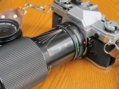 Canon AE-1 kit in excellent condition