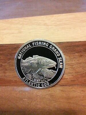 National Fishing Grand Slam-Atlantic Cod Coin