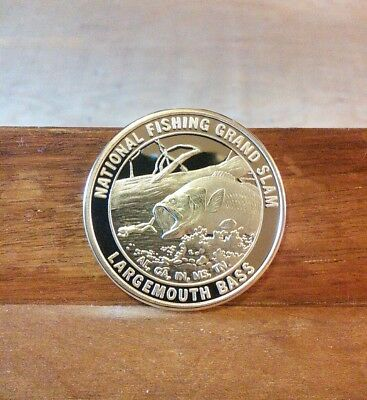 National Fishing Grand Slam-Largemouth Bass Coin