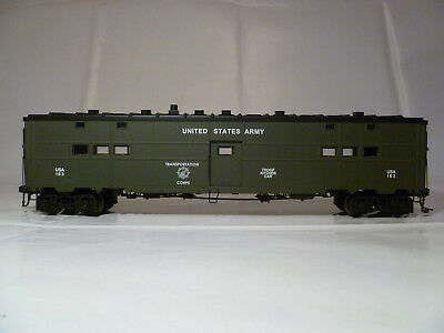 Weaver Models - Spur 0 - 2 Rail - Troop Kitchen Car - United States Army