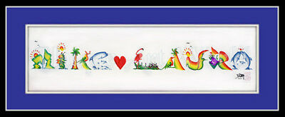 Shop Now Beautiful name paintings art - for your loved one gift