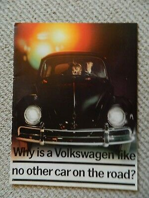 Why is a Volkswagen like no other car on the road?      Brochure    151 180 23