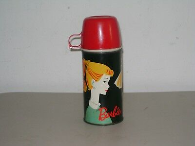 Vintage Mattel 1962 Barbie Thermos Bottle Excellent