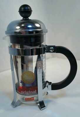 Bodum CHAMBORD Coffee Maker, French Press Coffee Maker 12 ounce 3-cup NOS