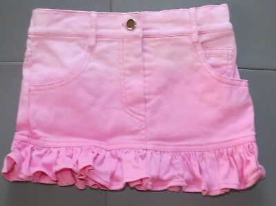 Danica And Dylan Sample Nwot Pink Ombre Ruffle Skirt  Size 4