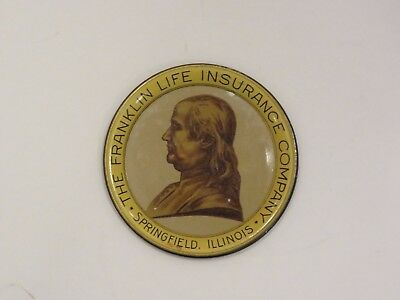 Franklin Life Insurance 1930's Tip Tray