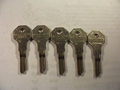5 -1933,1934 Dodge, Chrysler  Desoto Omega  Nos   Key Blank  Uncut  Locksmith