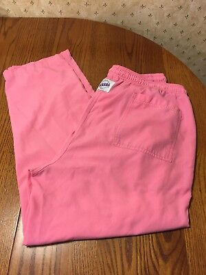 """EUC Pink Large S.C.R.U.B.S Pants 29"""" inseam. Polyester/cotton easy care"""