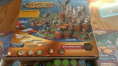 Heroscape Master Set - Rise Of The Valkrie - Incomplete - See Details Tiles, Box