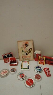 LOT OF 10 COCA-COLA advertising refrigerator MAGNETS