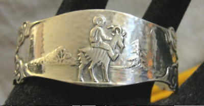 Norwegian Nils Hansen 830S 'nils Og Blåmann' Children's Napkin Ring Jorn  Norway