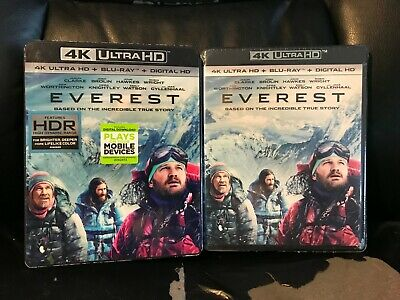 Everest 4K Ultra HD + Blu-ray + Digital HD New Sealed Epic Mountain