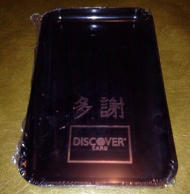 Chinese Thank You DISCOVER TIP TRAYS RESTAURANT, BAR CHECK PRESENTERS 19 Quant.