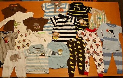 Baby Boy Clothes Size 18-24 Months Lot 18 Items Good Condition Free Shipping