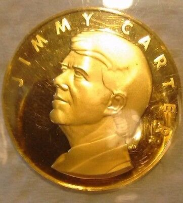 Gold Jimmy Carter Inaugural Medal