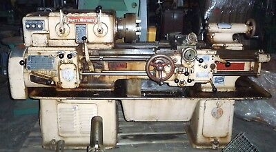 "Pratt & Whitney 12"" Model C lathe 1500 RPM & Reverse"