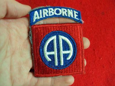 WWII US Army 82nd Airborne Division patch *Attached Rocker*