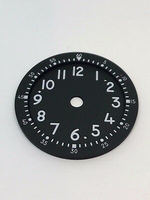 New Old Stock Waltham A13A Military Aircraft Clock Dial