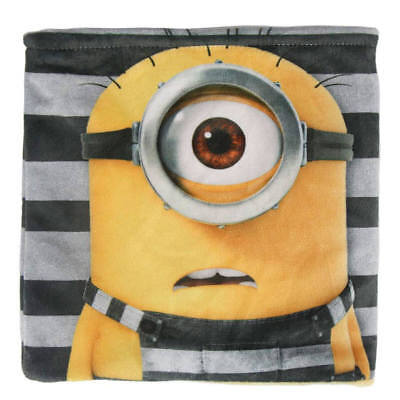 Minions Fleece Loop Scarf Loop Scarf Neckerchief Scarf Snood Minion