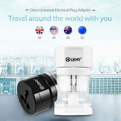 Universal International/World/Travel Adapter/Converter Plug Power US/UK/AU/EU W