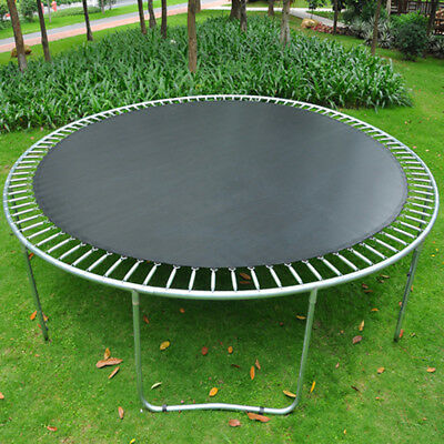10 12 14ft Replacement Round Trampoline Mat Jumping Mat Spring Loops Outdoor