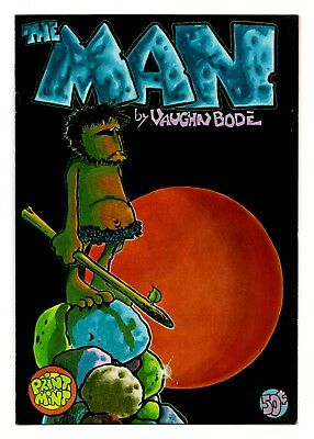 The Man / Vaughn Bode's 1966 Existential Underground Comix / 2nd Print VF- 7.5