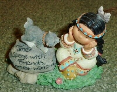 """Enesco Friends Of The Feather """"Natural Harmony"""" #550353 1999 WITH BOX"""